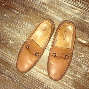 Aldo Men's Loafers 👞 (tan)